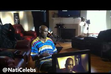"""DMX """"Raps The First Rhymes He Ever Wrote"""" Video"""