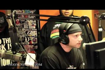 "Mistah F.A.B. ""Sway In The Morning Freestyle"" Video"