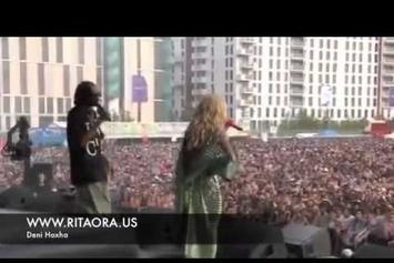 "Snoop Dogg Feat. Rita Ora ""Perform ""Torn Apart"" (Live At Wireless Festival)"" Video"