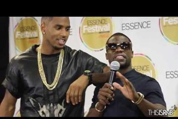 "Trey Songz Feat. Kevin Hart & James Harden ""Backstage @ Essence Festival 2013"" Video"