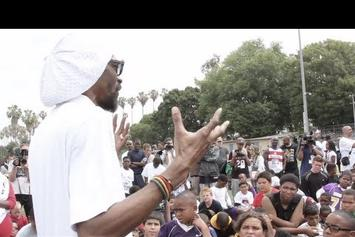 "Snoop Dogg ""Coaches @ Family Fun Day In L.A."" Video"