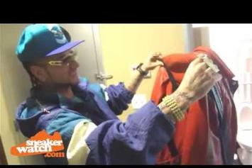 "Riff Raff ""Displays His Rare & Expensive Clothing"" Video"
