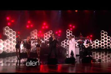 "Robin Thicke Feat. Pharrell ""Performs ""Blurred Lines"" (Live On Ellen)"" Video"