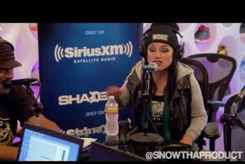"Snow tha Product ""Freestyle on Sway In The Morning"" Video"