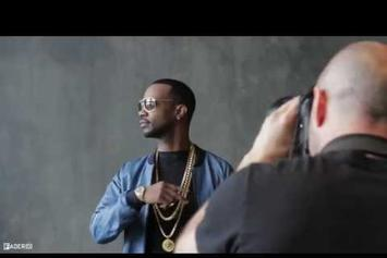 """Juicy J """"BTS Of Fader Cover Shoot"""" Video"""