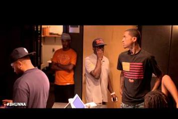 "Lil Reese ""In the Studio w/ Waka Flocka & Young Chop"" Video"