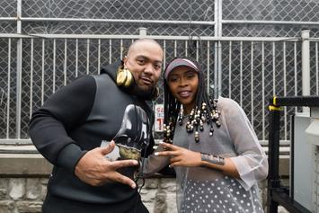 """Timbaland Says Aaliyah Visited Him In A Dream And Called Tink """"The One"""""""