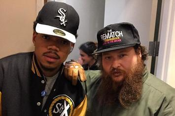 "Action Bronson & Chance The Rapper Perform ""Baby Blue"" On Letterman"