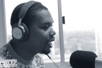 Charles Hamilton Freestyles On The Cruz Show