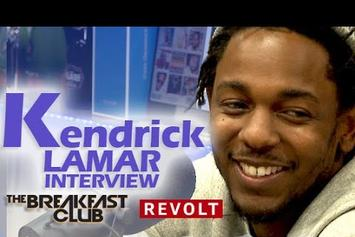 "Kendrick Lamar Addresses Criticism Of ""To Pimp A Butterfly"" On The Breakfast Club"