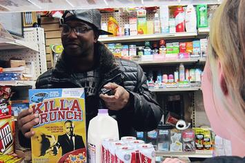"Cam'ron's ""Killa Crunch"" Cereal Boxes Will Have $100 In Cash Inside"
