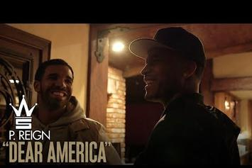 "P Reign's ""Dear America"" Vlog (Visits Drake's L.A. Home)"