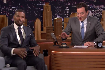 Jamie Foxx Does Musical Impressions For Jimmy Fallon