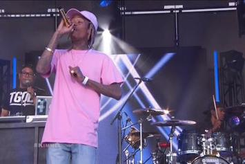 "Wiz Khalifa & Charlie Puth Perform ""See You Again"" On Jimmy Kimmel Live"