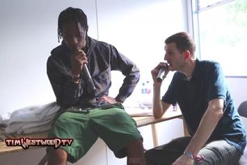 "Travi$ Scott Talks ""Rodeo,"" Kanye West Album, & More With Tim Westwood"