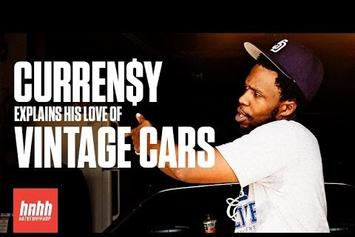 Curren$y Explains His Love Of Vintage Cars