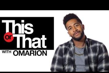 "Omarion Plays ""This Or That"""