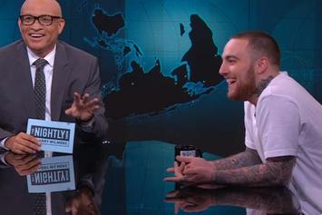 Mac Miller Compares Donald Trump To A Struggle Rapper On The Nightly Show