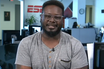 """T-Pain Talks Meeting Michael Jackson On ESPN's """"Highly Questionable"""""""
