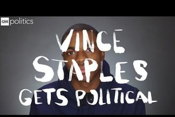 "Vince Staples Gets ""Political"" With CNN"