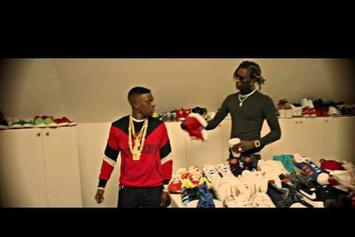 "Young Thug Feat. Quavo ""F Cancer"" Video"