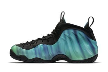"Nike Has A ""Northern Lights"" Foamposite Dropping This Weekend"