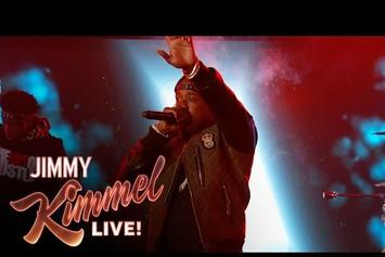 "Yo Gotti & Travis Barker Perform ""Down In The DM"" On Jimmy Kimmel"