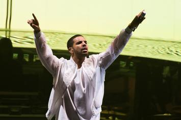 Watch Highlights Of Drake's Surprise Fader Fort Performance