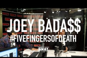 Joey Bada$$ Responds To Troy Ave In Sway In The Morning Freestyle