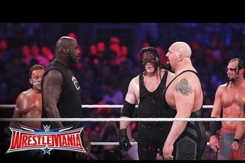 "Shaq Walks Out At Wrestlemania 32 To Desiigner's ""Panda"""