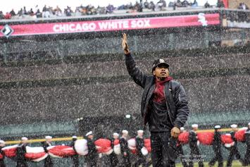 Chance The Rapper Throws Out First Pitch At White Sox Home Opener