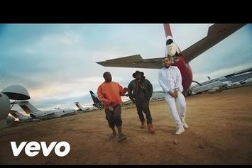 "French Montana Feat. Kanye West & Nas ""Figure It Out"" Video"