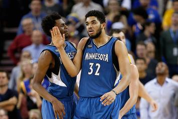 Karl-Anthony Towns Named 2015-16 NBA Rookie Of The Year