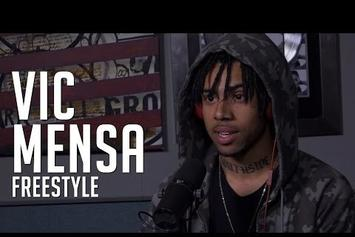 """Vic Mensa Freestyles Over """"Drug Dealers Anonymous"""""""