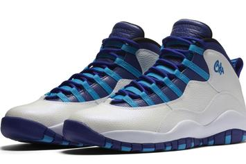 """Charlotte"" Air Jordan 10 Release Date Officially Announced"