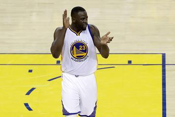 Draymond Green Will Be Watching Tonight's Game 5 From A Suite At The Oakland Athletics Game