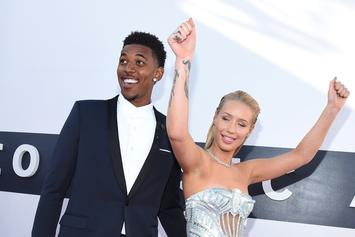 Iggy Azalea Reportedly Throws Nick Young's Belongings Out The Window