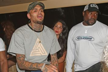 """Chris Brown Responds To Kanye West's """"Famous"""" Video"""