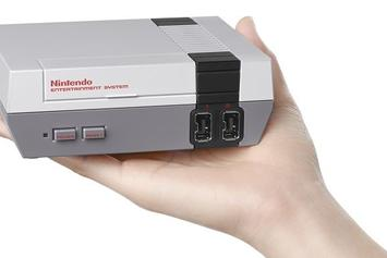 Nintendo Announces The New Mini-NES Will Play 30 All-Time Classic Games