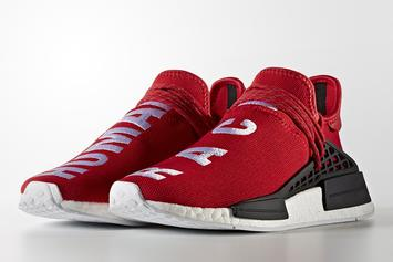 """The Red Version Of The """"Human Race"""" Pharrell x Adidas NMD Is Releasing This Summer"""