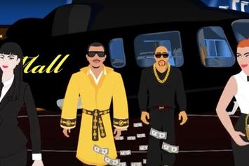 """Mally Mall Feat. French Montana, 2 Chainz, Iamsu! """"Where You At"""" Video"""