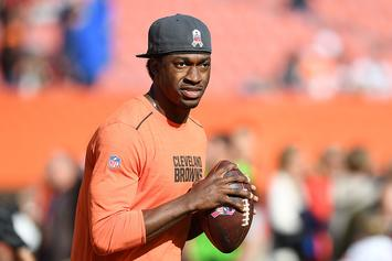 """Robert Griffin's Car Burglarized In """"Players And Family"""" Parking Garage During Browns Game"""