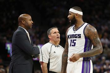 "DeMarcus Cousins Fined A ""Substantial Amount"" For Cursing Out Reporter"