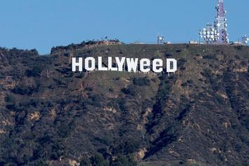 "Legendary Prankster Changes Hollywood Sign To Read ""Hollyweed"""