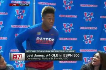 Watch This Top College Football Recruit Troll Florida And Florida State