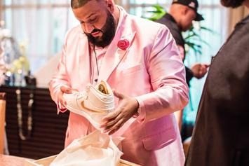 DJ Khaled Receives Custom Air Jordan 1s With 18K Gold Accents