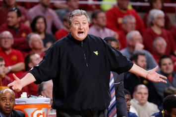 West Virginia Coach Bob Huggins Faints During Game, Blames Players