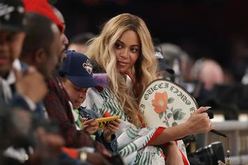 Beyonce Shares Snapchat With Blue Ivy