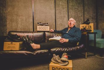 Kanye West Blessed WWE Legend Ric Flair With A Haul Of Yeezy Boosts