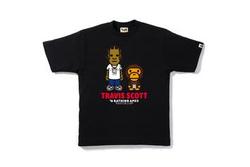 BAPE Is Bringing Back Their Cartoon Travis Scott & Big Sean Designs